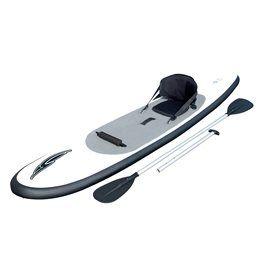 Tavola SUP gonfiabile perfetta per iniziare la disciplina e per le persone che hanno già un po' di esperienza con un livello intermedio, e se vuoi si trasforma in un kayak.