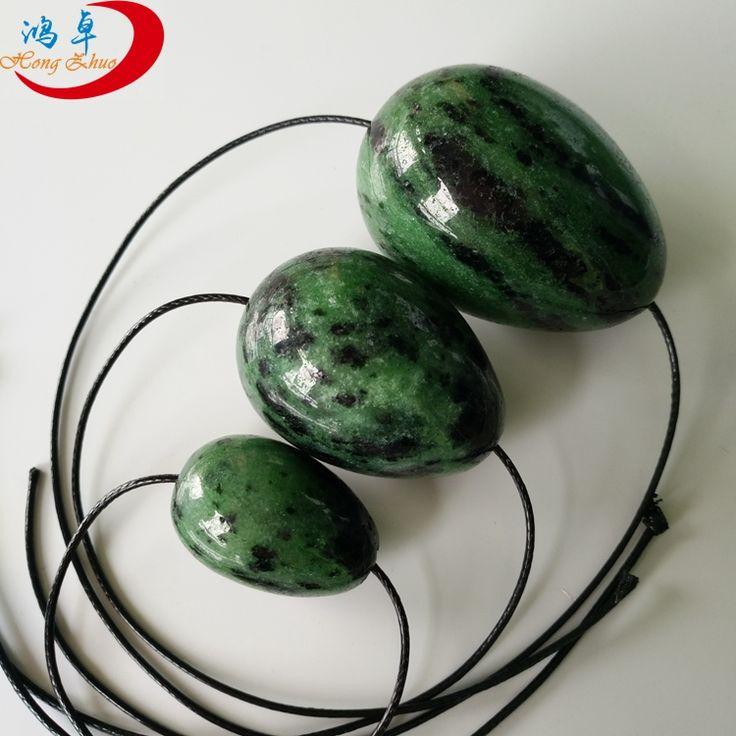 100% natural jade yoni eggs for kegel exercise wholesale gemstone