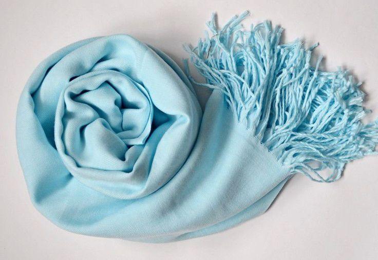 "Cashmere Blue Stole ""Heavenly Shawl"". Cashmere Scarf. Cashmere Wrap. Blue scarf. Blue Stole. Blue Scarf. Blue Wrap. by VUGASHOP on Etsy"