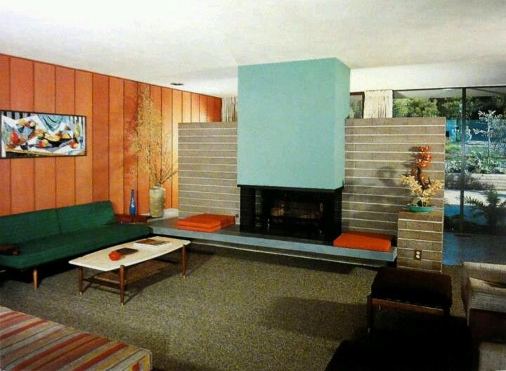 Mid Century Modern Fireplaces 69 best retro fireplaces images on pinterest | midcentury modern