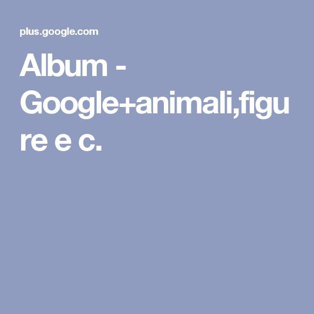 Album - Google+animali,figure e c.