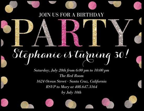 43 best parties adult birthdays images on pinterest birthdays fabulous birthday party invite filmwisefo