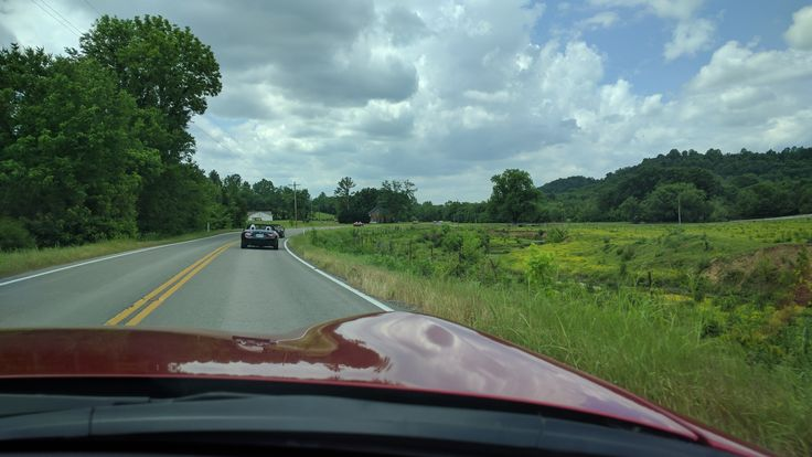 Taken while out on a drive with the Music City Miata Club, Nashville TN
