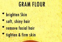Beauty with Gram flour – besan for face, body and hair
