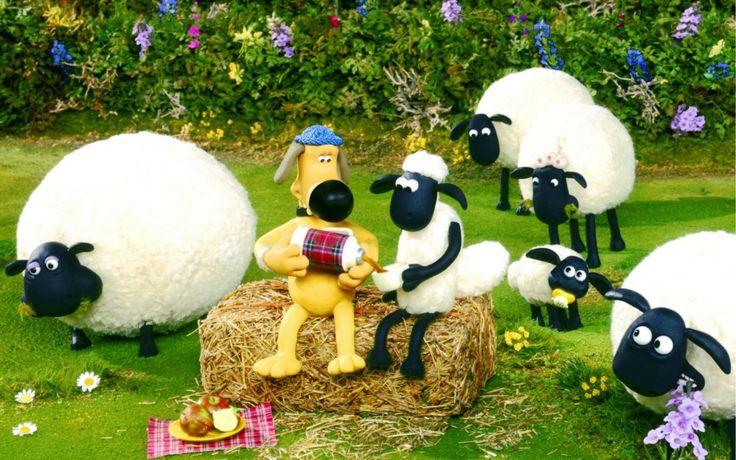 Shaun The Sheep and Bitzer