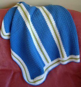 Blue Sky Baby Blanket