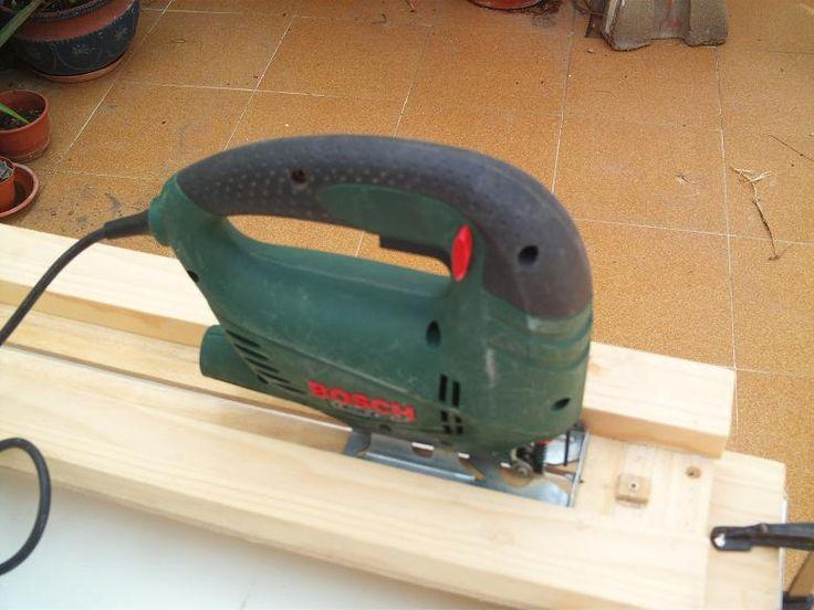 Invento casero para realizar cortes rectos con la sierra - Sierra de calar ...