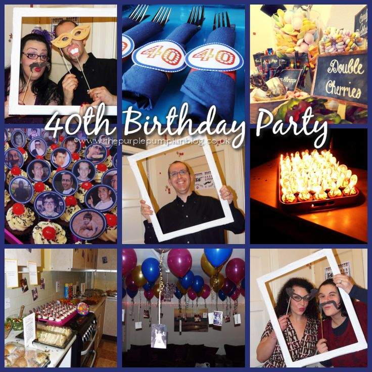 167 Best Images About 40th Birthday Party Ideas On