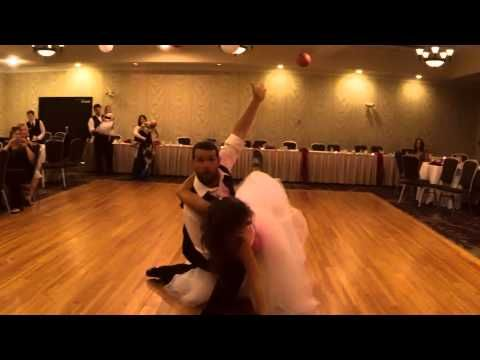 Awesome dance by the bride and brother!! So much fun! Mark & Megan Wedding - Dance Video - YouTube