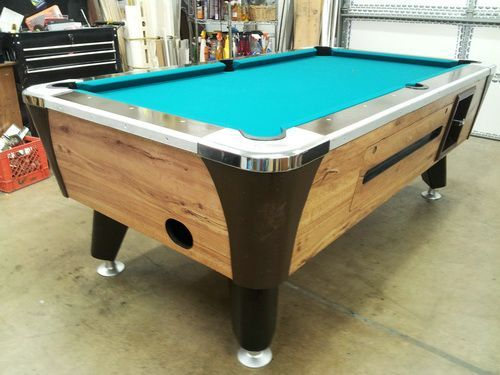Coin Operated Pool Table Cheap