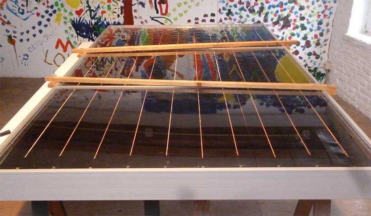RELIOS : un chauffe-eau solaire en matériaux de récupération