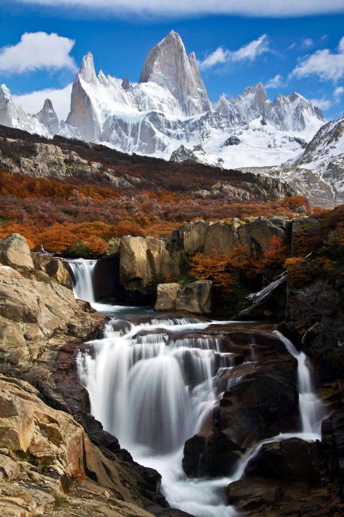 Cerro Fitz Roy, El Chaltén, Patagonia Argentina.