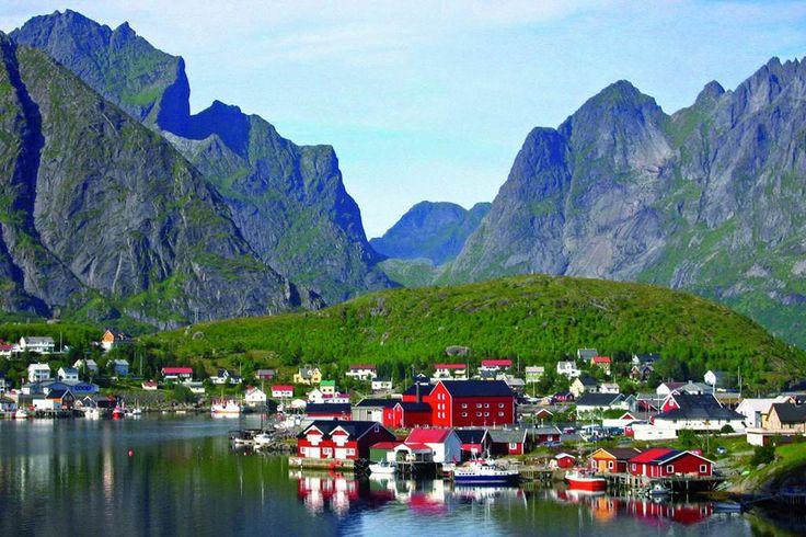 Лофотенские острова, Архипелаг в Норвегии   путешествия Галерея