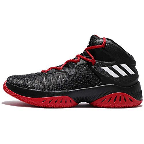Adidas Performance D Rose 5 zapatillas de baloncesto Boost, Escarlata / azul solar, 10 M US