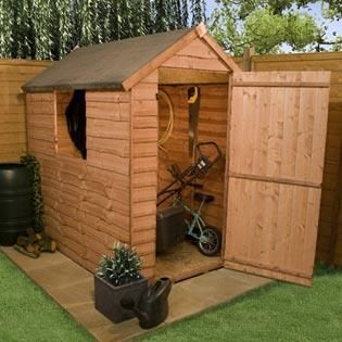 BillyOh Traditional Economy Apex Shed - Cheap Garden Sheds - Garden Buildings Direct