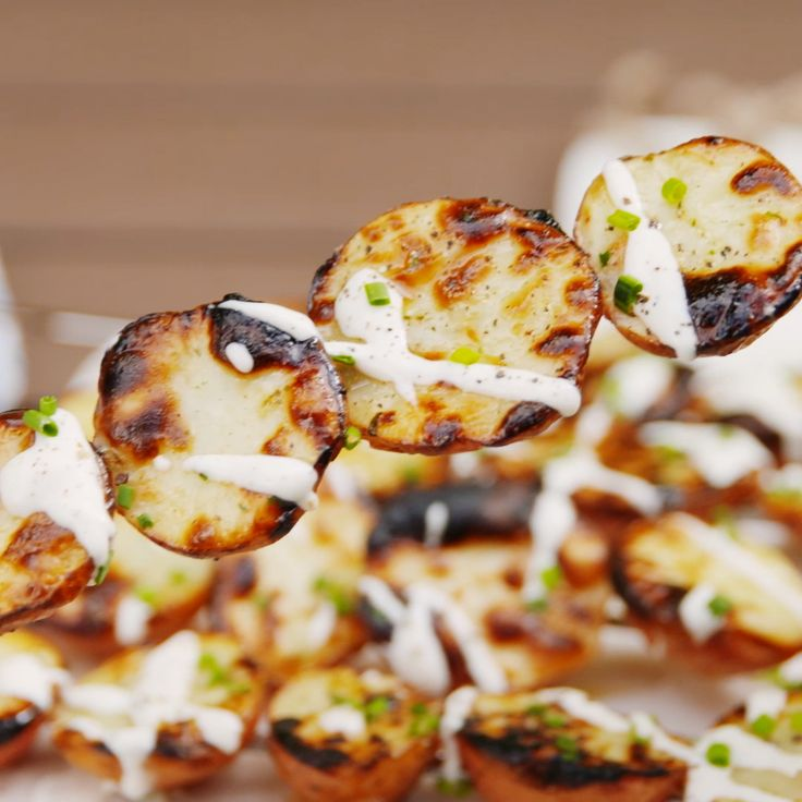 Grilled Ranch Potatoes