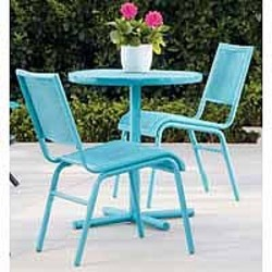 Great Bistro Set - Looks Enamel & 18 best Target products images on Pinterest | 3 piece Bistro set ...