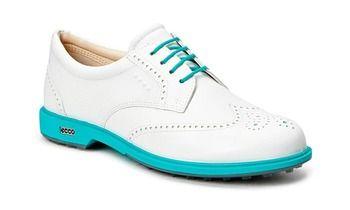 ECCO Ecco Womens Clas. Golf Hybrid (White/turquoise) - Offizieller ECCO Online Shop Deutschland