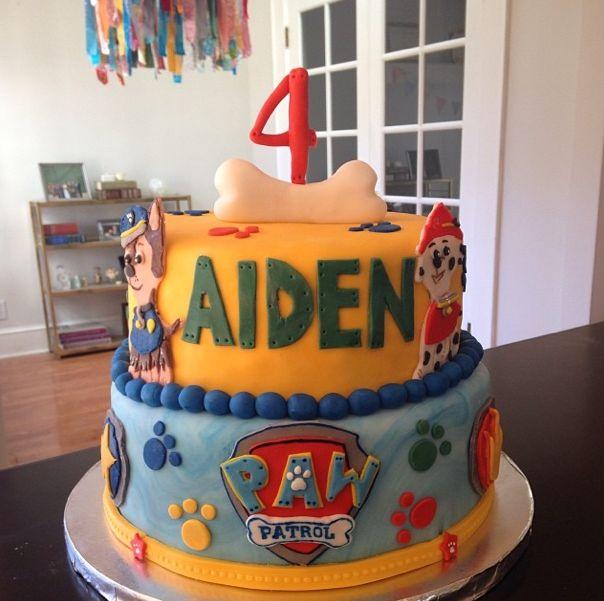 Paw Patrol Birthday Cake #pawpatrol #birthday #cake
