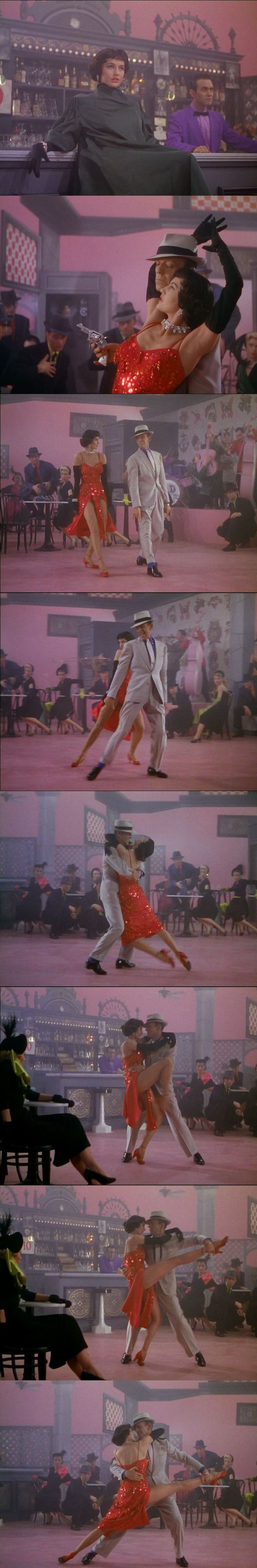 "Cyd Charisse and Fred Astaire in ""The Band Wagon"" [1953]"