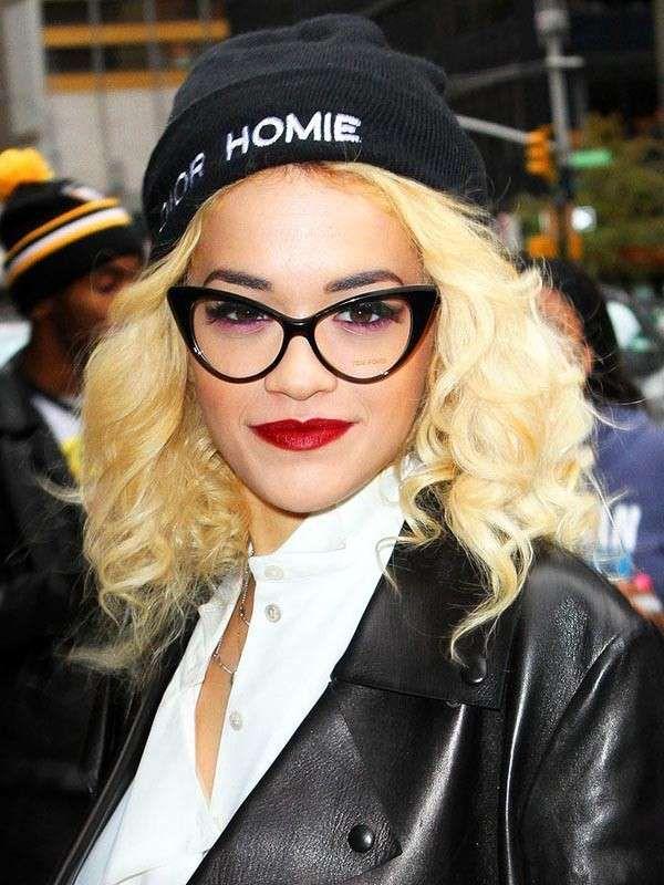 Make up per chi porta gli occhiali - Ombretto viola e eyeliner