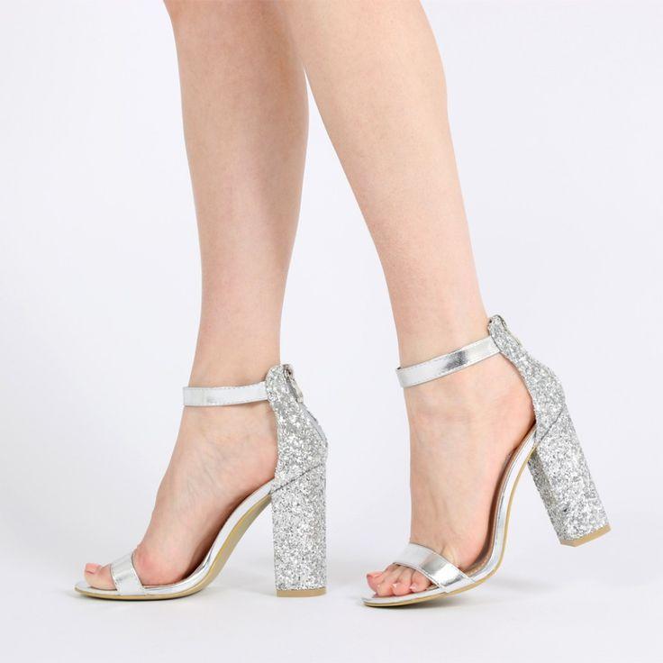 Best 25  Silver heels ideas on Pinterest | Silver heels prom ...