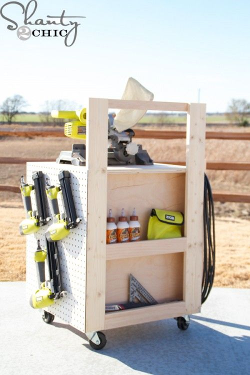 59 best Garage Storage images on Pinterest Tools, Carpentry and - idee de rangement garage