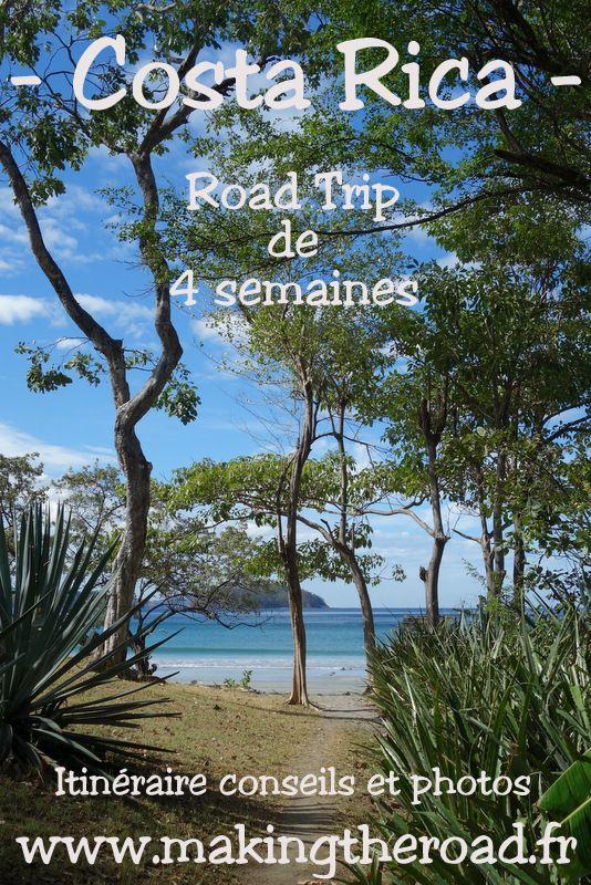 1 mois de road trip au Costa Rica - au départ de San José, itinéraires et conseils avec des photos de ce voyage que j'ai adoré, au coeur de la nature - plages pour le snorkeling et randonnées pour petit budget - région du Corcovado, de Guanacaste, des Caraïbes et des volcans. Circuit de 4 semaines en janvier février en hiver.