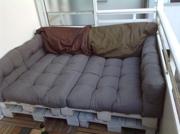 Ber ideen zu sitzbank polster auf pinterest decking ikea hacks und ikea diy Paletten sofa polster