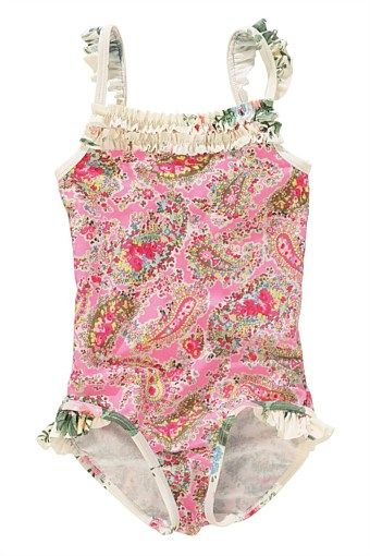 Next Girl's Clothing - 3 months to 6 years - Next Paisley Swimsuit