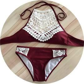 summer bathing suits (14-16) tween (maroon) - Google Search