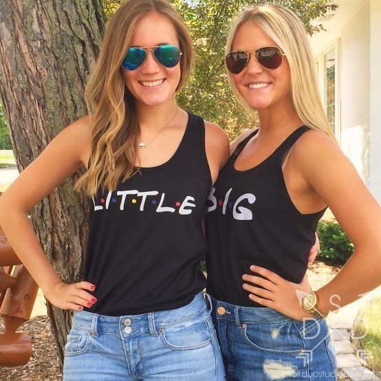 I'll Be There For You Big/Little Tanks