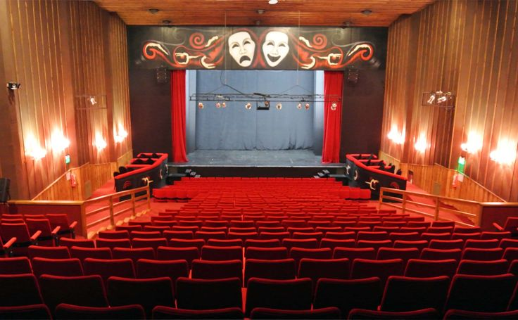 Teatro La Baita, Bariloche, Patagonia Argentina.