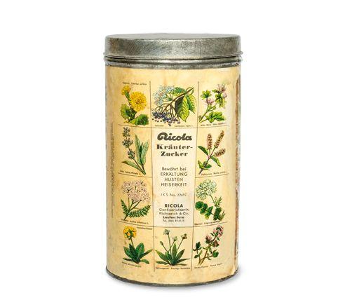 #herbs #Ricola #drops #retro #vintagepackaging