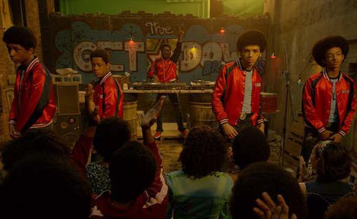 """The Get Down: Episode 6 - Raise Your Words Not Your Voice  Jackie sits everyone down and explains how radio DJs no longer determine if a song is hot or not. In fact you have to go to all the gay DJs because they run the disco clubs. But to do that you have to get the album approved by Leslie. Pastor Cruz asks """"Is Leslie one of the gays"""" upon finding out she's supposed to be a nice Jewish girl he responds """"I have respect for the Jews"""" like he wasn't 15 second from going on a anti-gay rant…"""