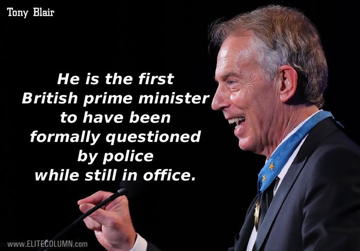 11 Facts To Know About Ex British Prime Minister Tony Blair