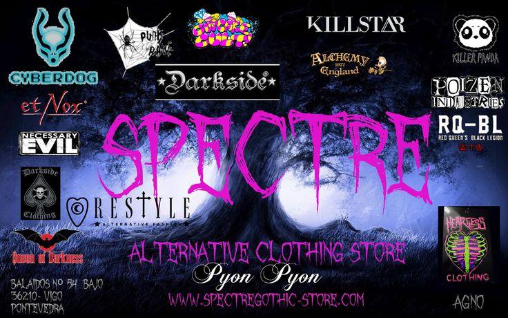 Tienda de ropa alternativa, dedicada a la venta de todo tipo de prendas y complementos de estilo #Goth, #Cyber, #Dark, #Military, #Diesel , gran variedad en #corsets y #underbust de varillas de acero.....  #Queen of Darkness, #Cyberdog, #Spiral, #RQBL, #Pyon- Pyon, #Restyle, #NecessaryEvil, #KILLSTAR, #PunkRave, #DarkSide 3Alchemy, #etNox, #ROGUE+ WOLF, #VintageGothLondon, #LegAvenue, #NewRock,#Maxvue Vision...... son algunas de las marcas que podrás encontrar en nuestra tienda. física y…