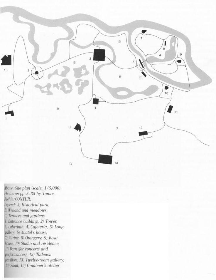 Erwin Heerich | Museo Insel Hombroich | Neuss, Alemania | 1982-1994