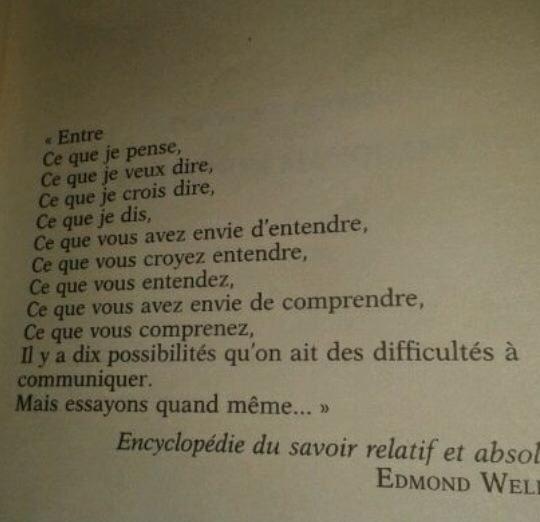 Bernard Werber et son personnage Edmond Wells Encyclopédie du Savoir Relatif et Absolu