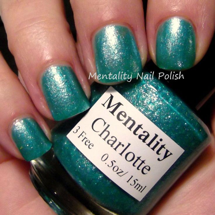 Mentality Nail Polish: Charlotte - Glass Fleck Jellies