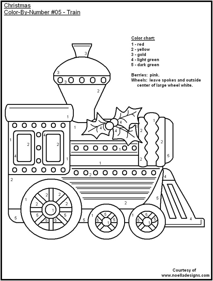 Colour By Number Worksheets Christmas : 62 best colouring by numbers images on pinterest