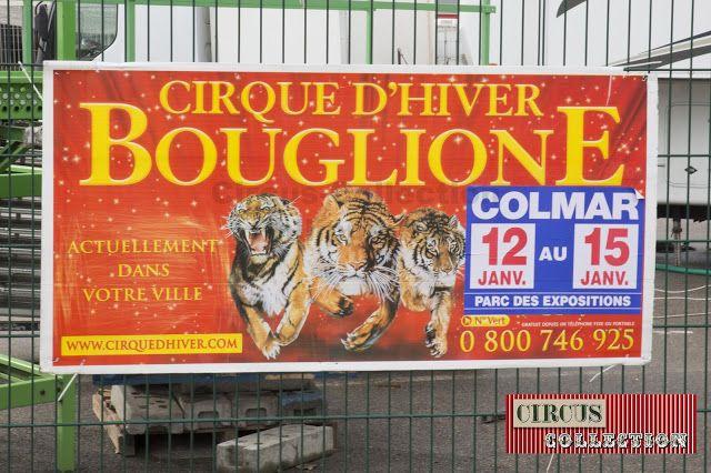 Circus -Collection: Ambiance au Cirque Bouglione en tournée 2016-2017