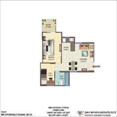 Signature Global 3bhk Floor Plan Signature Global Orchard Avenue Sector 93 Gurgaon Huda Affordable Housing Call