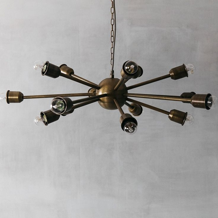 Create a focal point with the impressive Starbright chandelier from Graham & Green.