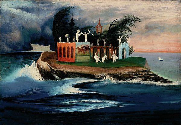 Mysterious Island  Tivadar Kosztka Csontvary