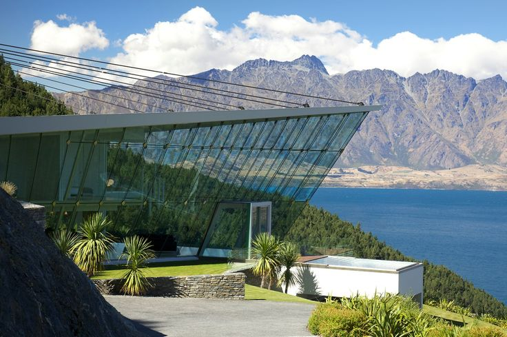 Jagged Edge, Queenstown. What a house! As seen in... | Trendsideas.com