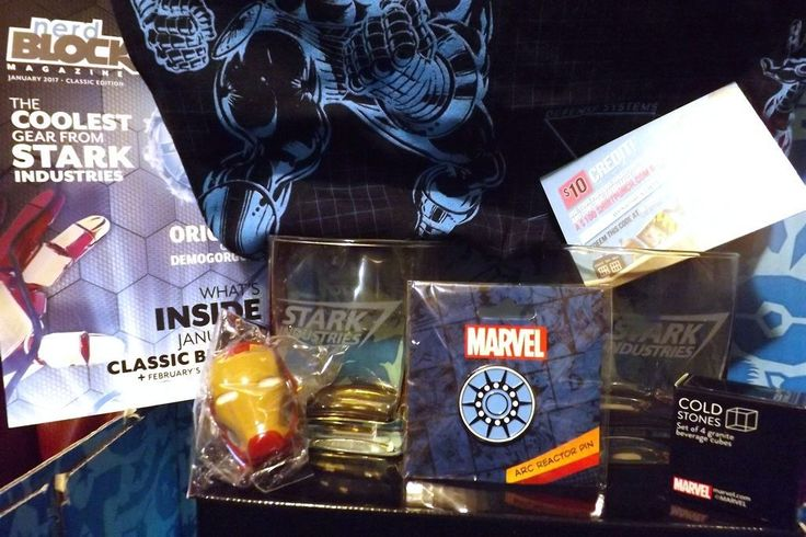 Check out January's Nerd Block Classic box! Haylee unboxes the nerd collectibles in the Stark Industries-themed nerd box - Ironman Shirt and Cold Stones, Stark Industries glasses and more. Check out her review…