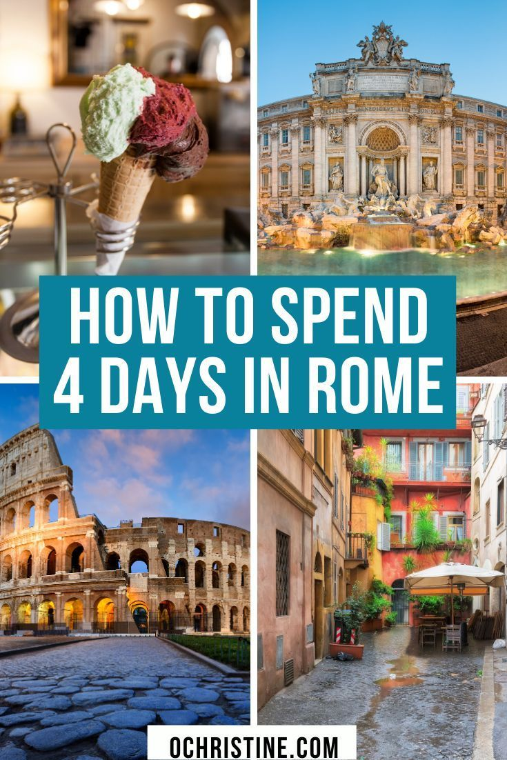 How Much Money To Take To Rome For 4 Days