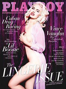 Playboy Magazine March 2015 The Lingerie Issue