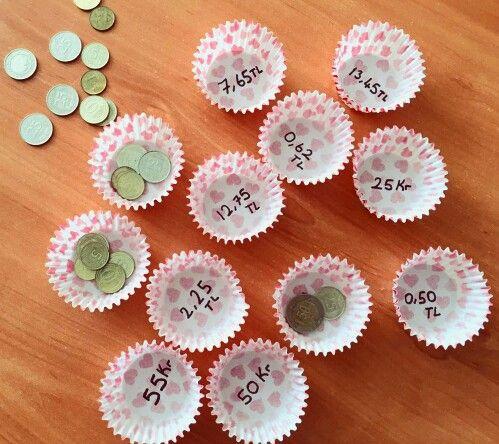 Paralar Paralarımız ikinci sınıf matematik